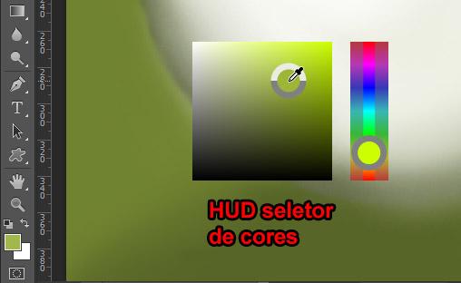 HUD para selecionar cores - só em modo OpenGL