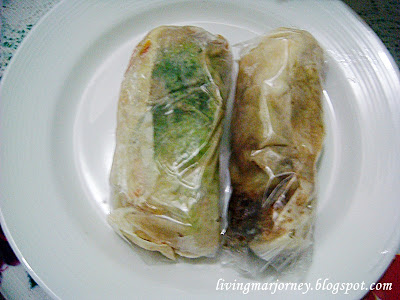 Globe Fresh Lumpia - One of the Best in Quiapo