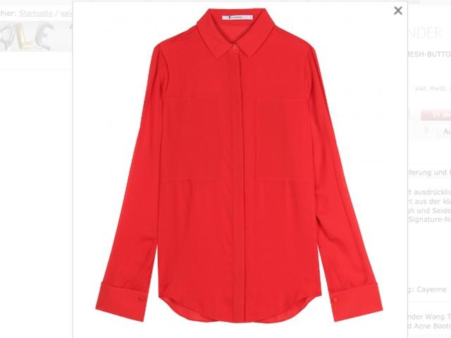 rot, rot, rot sind alle meine Kleider