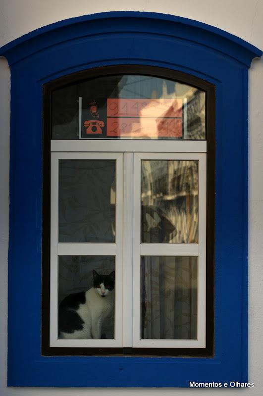 Menina estás à janela ...