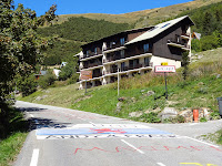 Entrée dans l'Alpe d'Huez