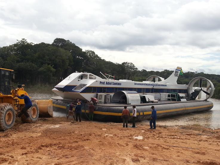 HoverCraft da Amazônia – 100% Nacional