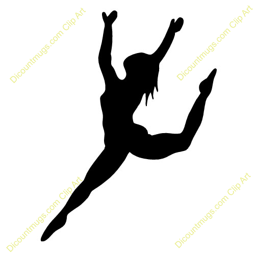 Dancer Clipart Png Dancer Clipart Silhouette Leap