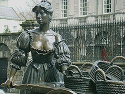 Molly Malone à Dublin
