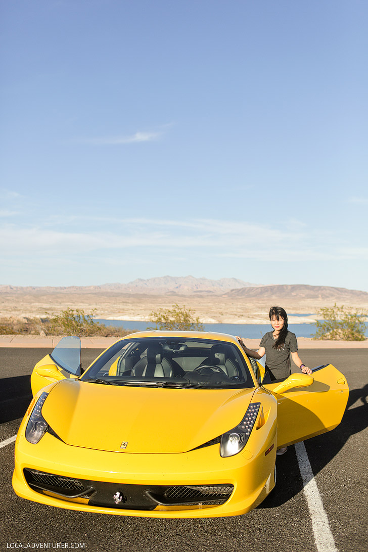 World Class Driving Las Vegas // Test Drive a Ferrari.