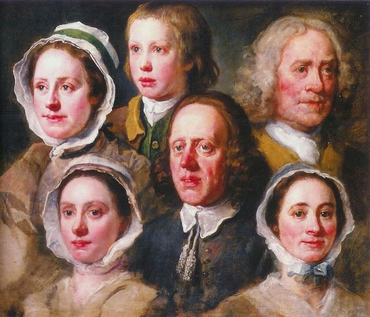 William Hogarth - Hogarth's Servants