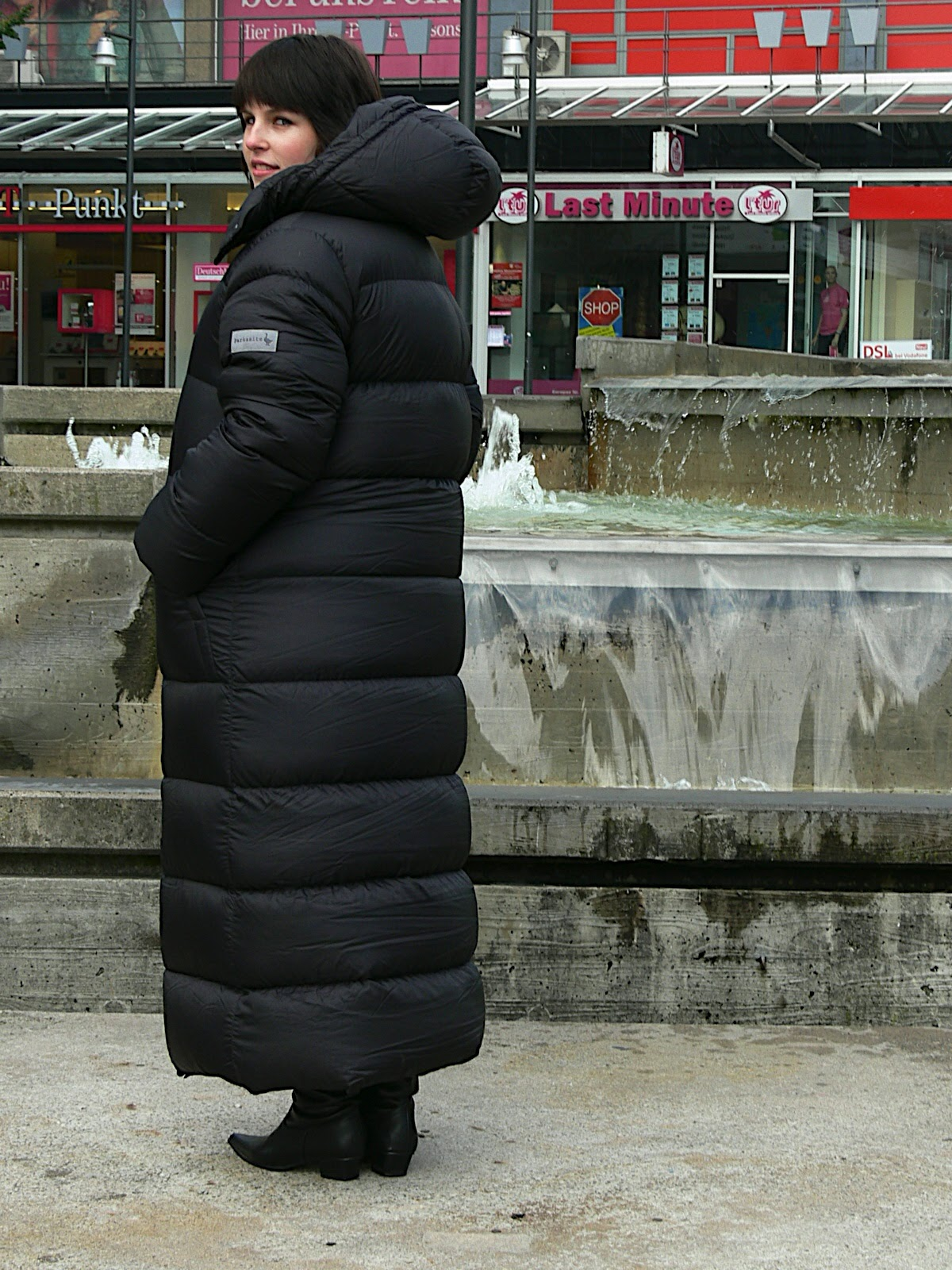 Black Parkasite Down Coat