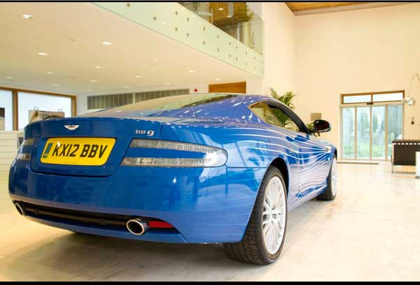 awesome blog: awesome car - aston martin db19 1m facebook fans (9