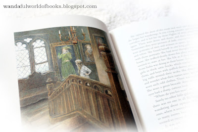 The Secret Garden, illustrated by Inga Moore, In the house