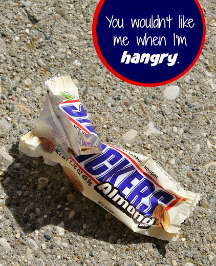 You wouldn't like me when I'm hungry (or hangry). So feed me a SNICKERS®! #WhenImHungry
