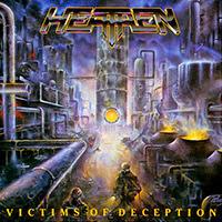 Heathen - Victims Of Deception recenzja okładka review cover