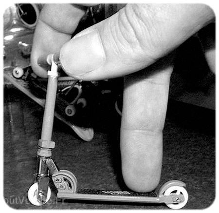 Finger Scooter: prise en doigts...
