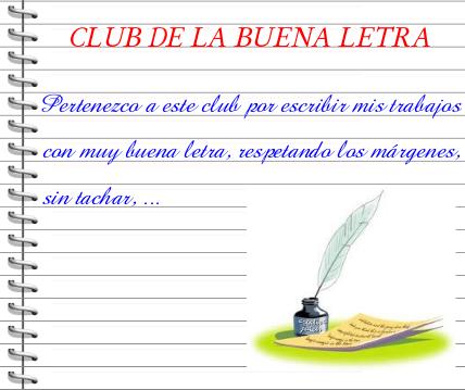 Tercero Taraguilla: Club de la buena letra