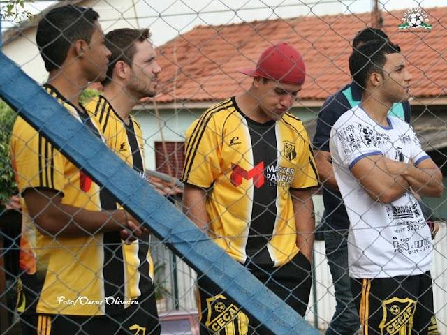 Jogadores do Cecap FC  prestigiam final da Zona Sul e se preparam para o duelo de estréia na Copa Kaiser 2014 contra o Mistura FC, atual Campeão.