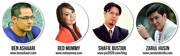 panel blogger jemputan