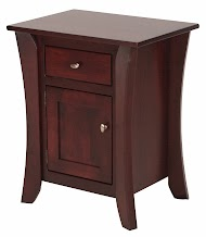 Kyoto Nightstand with Doors