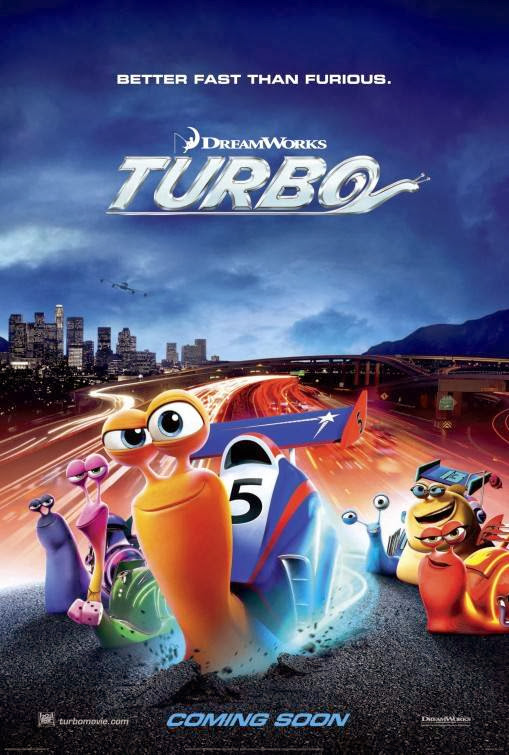 Poster Of Turbo (2013) Full Movie Hindi Dubbed Free Download Watch Online At Alldownloads4u.Com