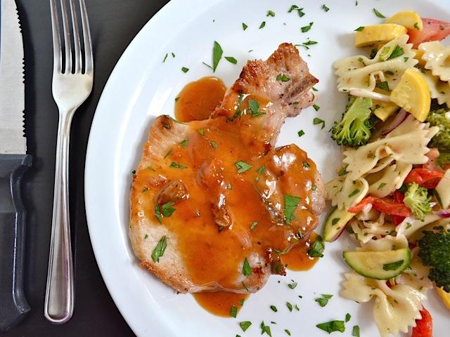 d526936bce99 Apricot Dijon Pork Chops - Budget Bytes