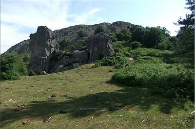 Rocas de formas curiosas