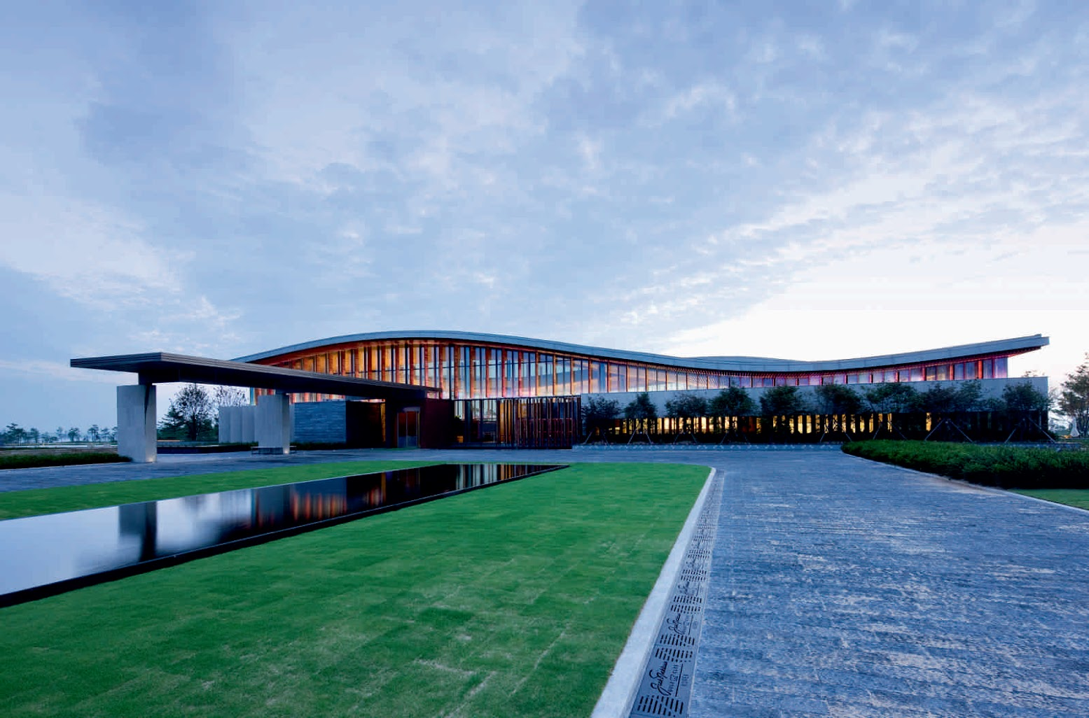Songdo-dong, Yeonsu-gu, Incheon, Corea del Sud: [JACK NICKLAUS GOLF CLUB BY YAZDANI STUDIO]