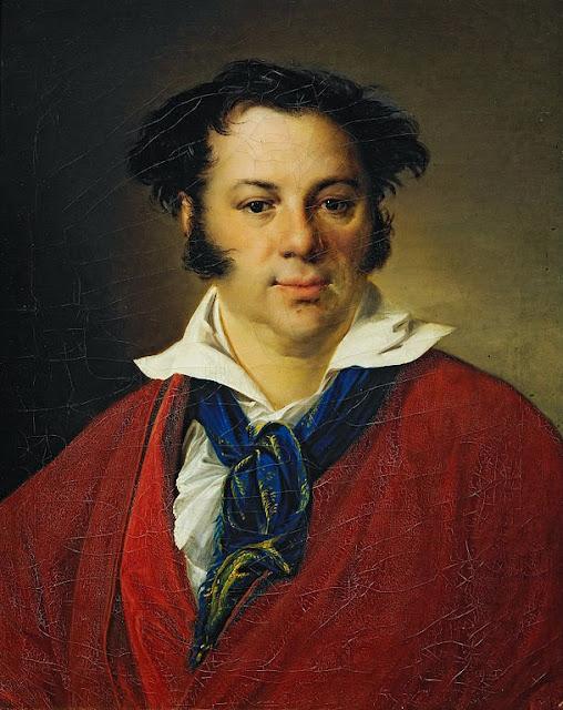 Vasily Tropinin - Portrait of K.G.Ravich - Google Art Project.