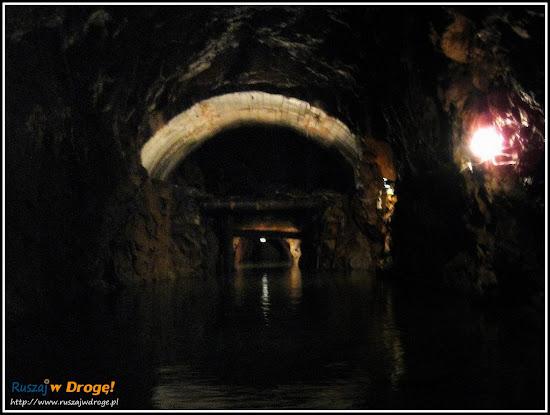 Włodarz - spływ zalanymi korytarzami