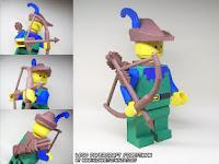 Lego Forestmen Papercraft Minifig
