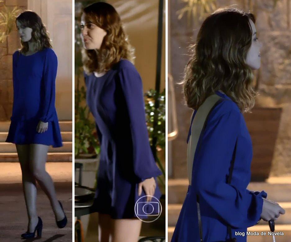 moda da novela Alto Astral, look da Laura dia 12 de novembro