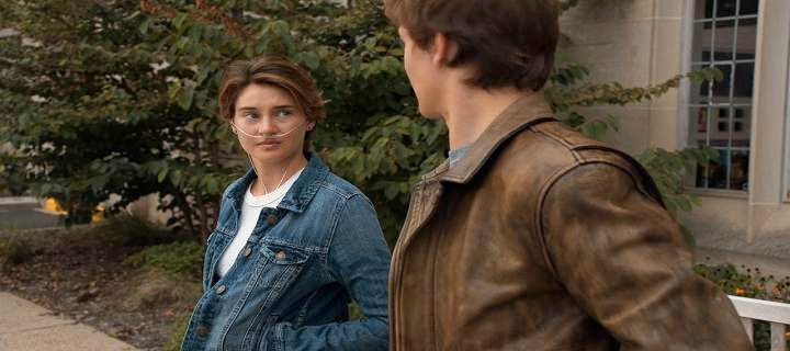 Screen Shot Of Hollywood Movie The Fault in Our Stars (2014) Download And Watch Online Free at alldownloads4u.com
