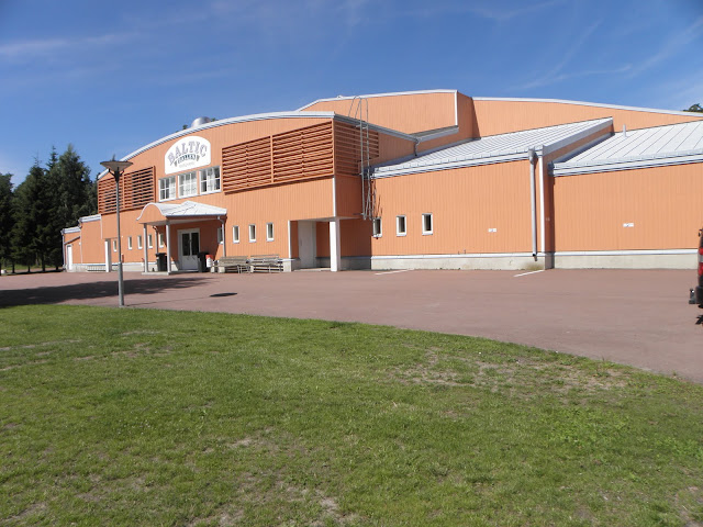 Baltichallen utifrån