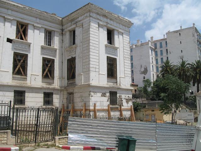 Tribunal de Bejaia effondré