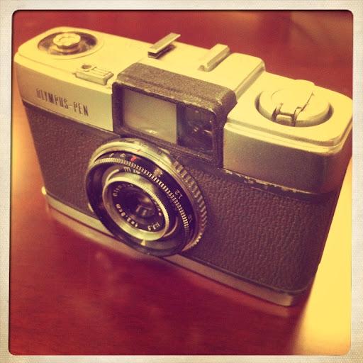 olympus-pen半格相機初試