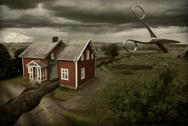 Impossible Illusions by Erik Johansson