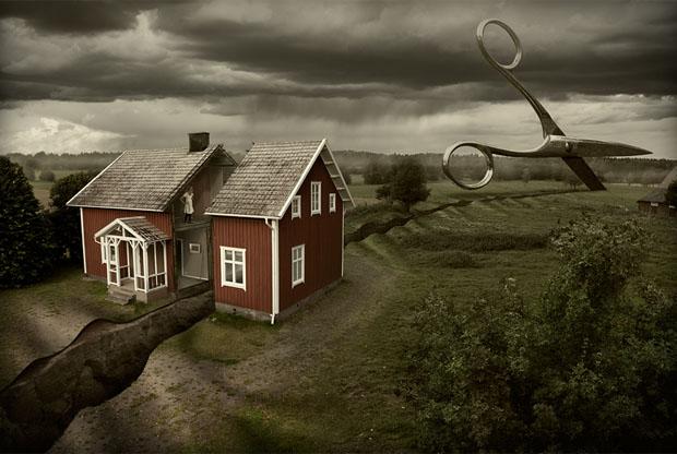 Impossible Illusions by Erik Johansson