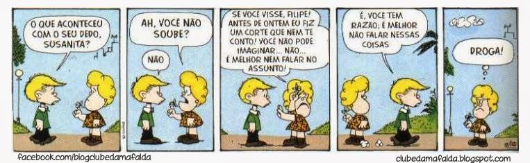 Clube da Mafalda: Tirinha 593