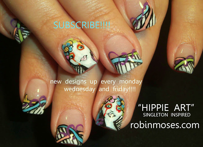 Robin moses nail art hippie girl nails mary singleton nail art hippie girl nails mary singleton nail art hippie nail art 60s nail art how to manicure honeycomb nail art beehive nail art bumble bee nails prinsesfo Image collections