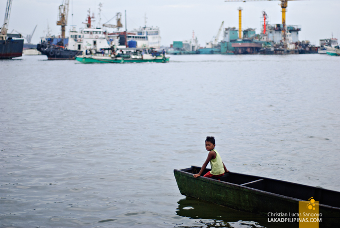 Manila Bay from the Navotas Fish Port