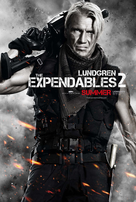 expendables two ver12 xlg The Expendables 2   Galeria de Posters e Trailer.