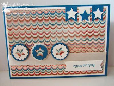 stampin up, inkspire_me 149, wishes your way, venzianische träume, venetian romance, banner, stars, sterne, fähnchen, male birthday, geburtstag mann
