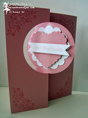 stampin up wedding, hochzeit, love&laughter, zum schönsten tag, flipcard thinlits, wo das herz, forever with you