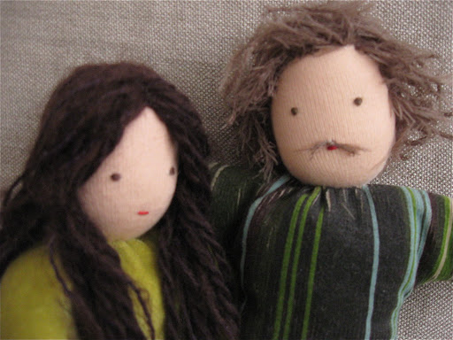 proud mom and dad dolls
