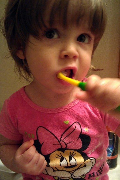 Brushing Our Teeth #SpinbrushCFK