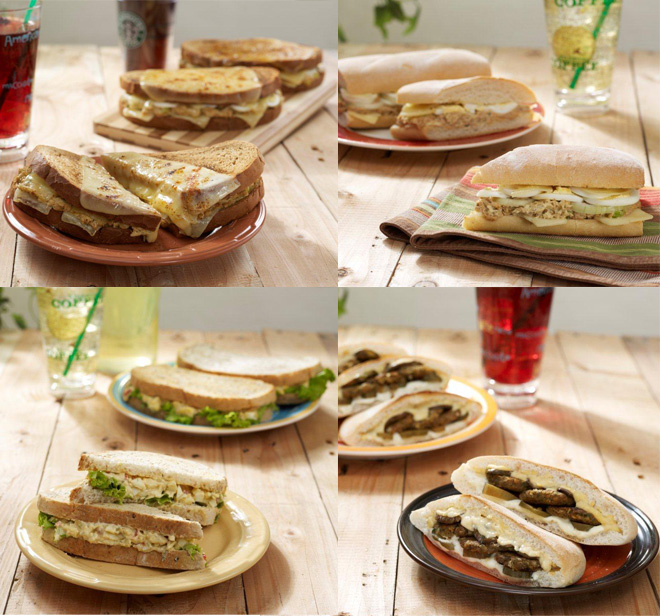 Starbucks New Hot Lunch Sandwiches Featured Food Items For