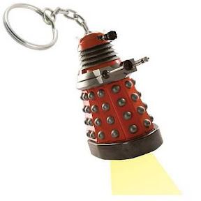 Doctor Who Dalek Flashlight Key Chain