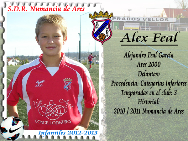 ADR Numancia de Ares. Alex Feal.