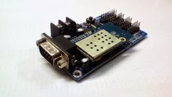 wi-fi LED control card, κάρτα γραφικών wi-fi γιά επιγραφές LED