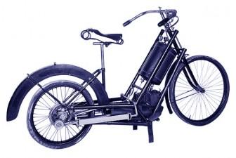 Sejarah otomotif, 10 kejadian pertama dunia otomotif, Sepeda motor pertama di Indonesia, SPBU berkanopi pertama di dunia, Hildebrand und Wolfmüller adalah motor pertama di Indonesia