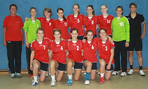Weibliche B-Jugend 2011/2012