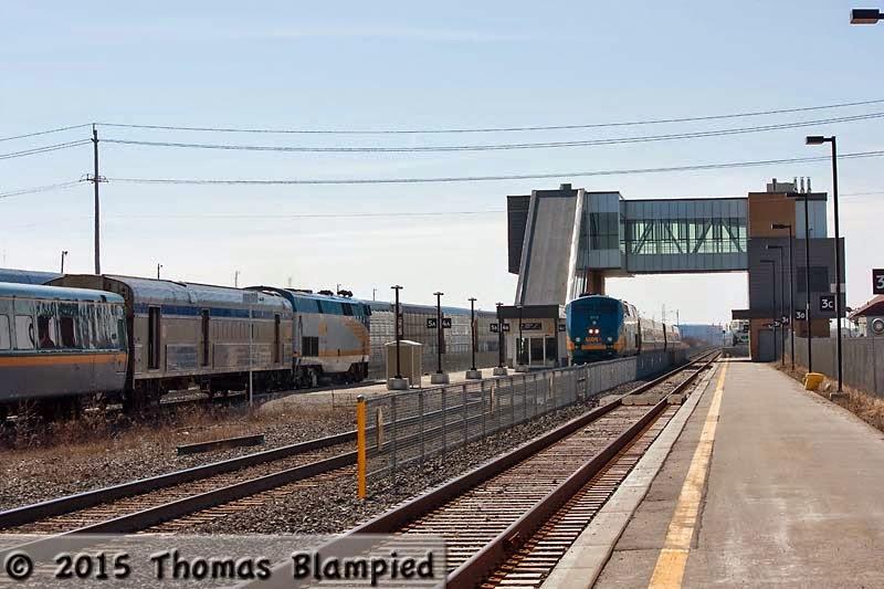 Oshawa GO/VIA Station.