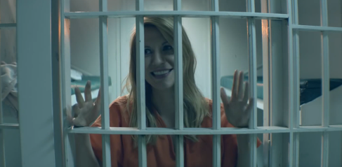 Claire Danes' Choice, Audi Smart Performer video
